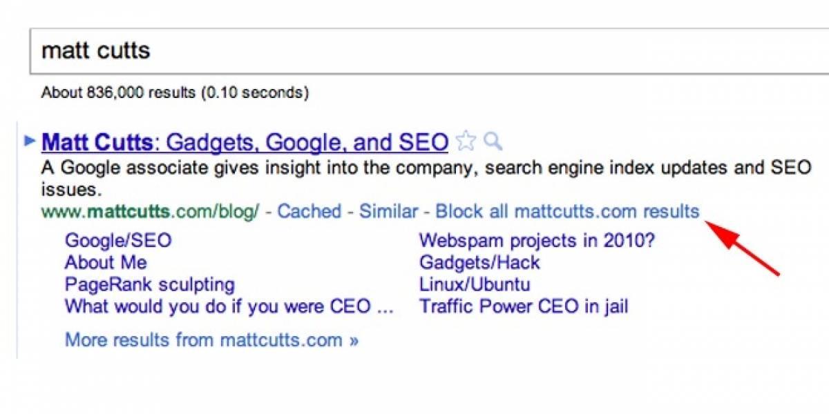 La guillotina de Google no para: Ya no se pueden bloquear sitios de resultados de búsquedas