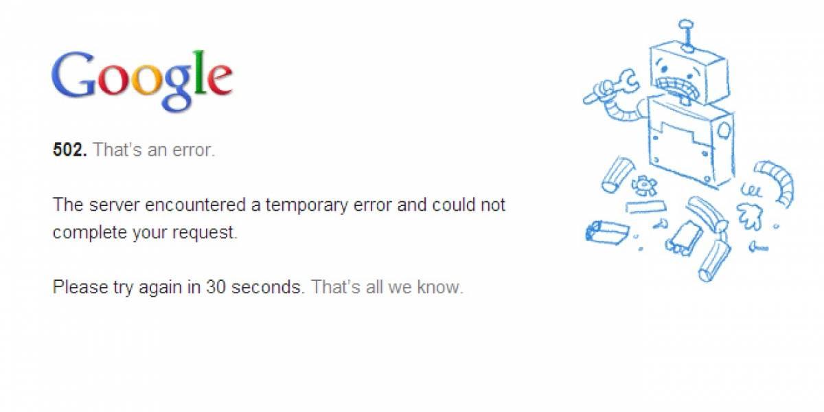 YouTube dejó de funcionar temporalmente