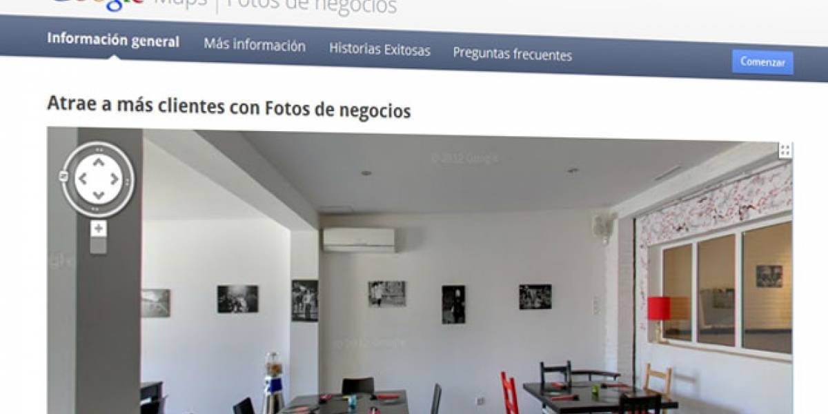 Google Business Photos ya está disponible en España