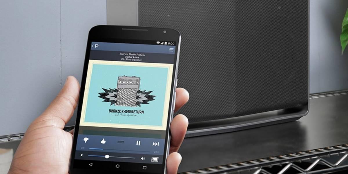 Reproduce música de forma inalámbrica con Google Cast
