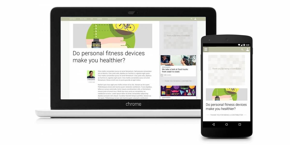 Google lanza Contributor, una suscripción para eliminar la publicidad web