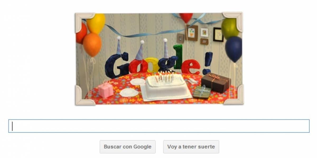 """Google cumple 13 años... ya entró a la """"edad del pavo"""""""
