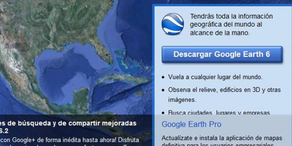 Google Earth: Madrid, Everest y París, lo más buscado por los españoles