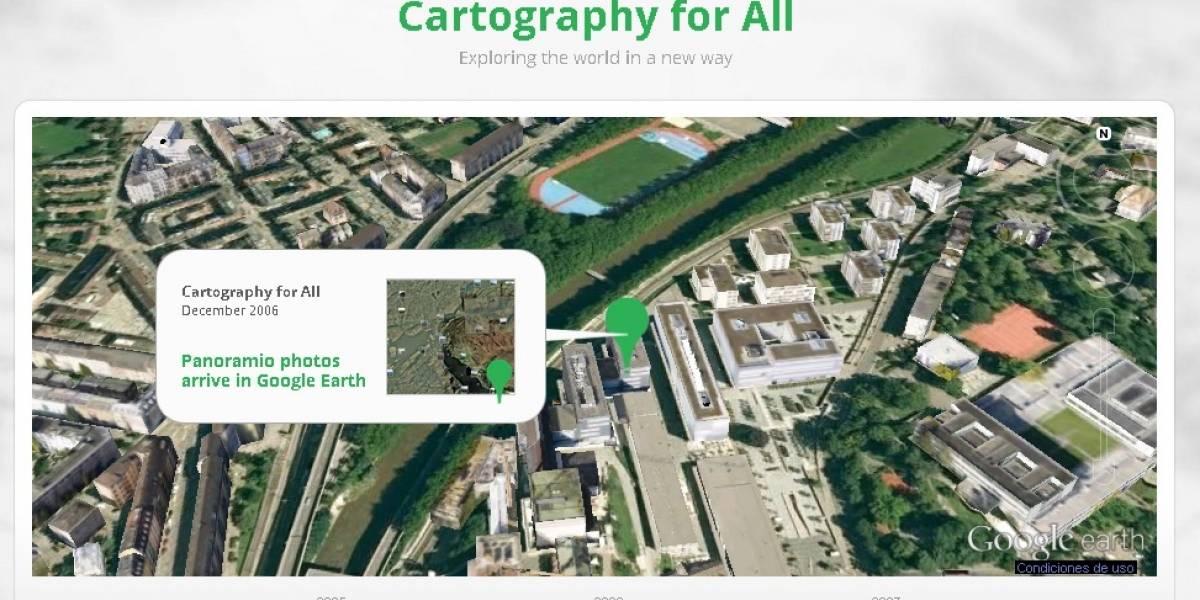 Google Earth supera la marca de las mil millones de descargas
