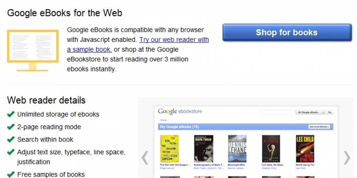 Google lanza su tienda de libros en línea en Estados Unidos