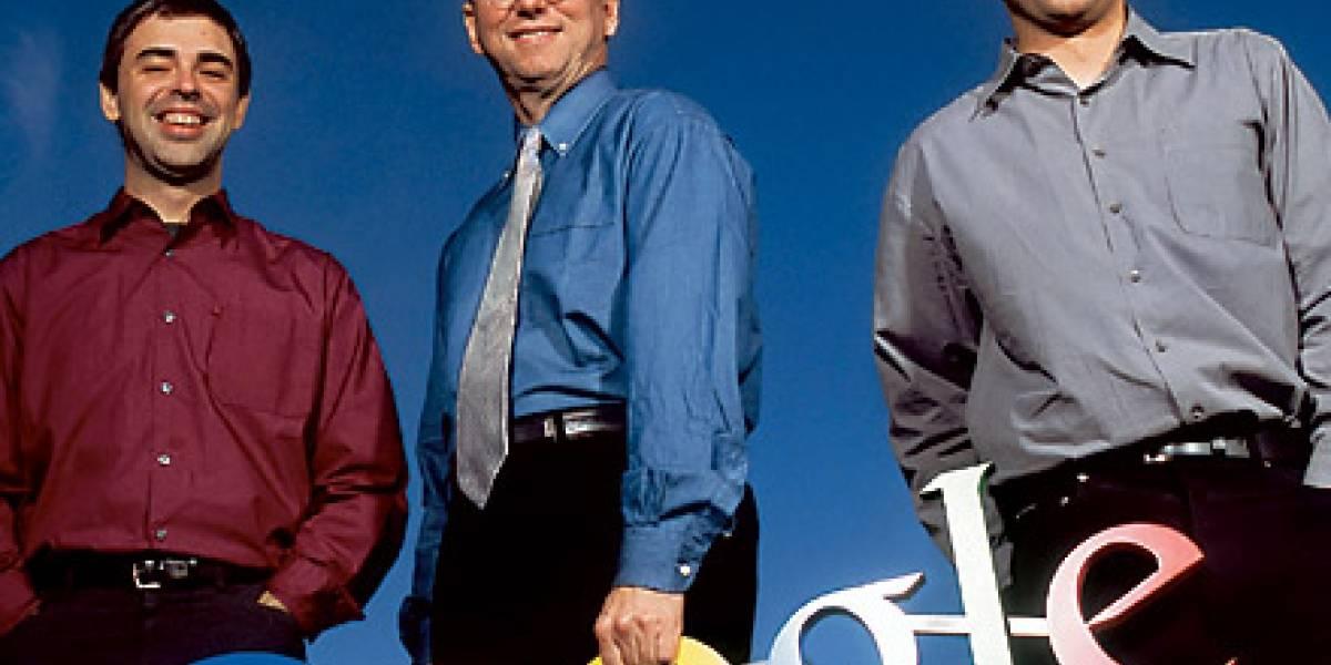 Eric Schmidt le entregará la corona de CEO de Google a Larry Page