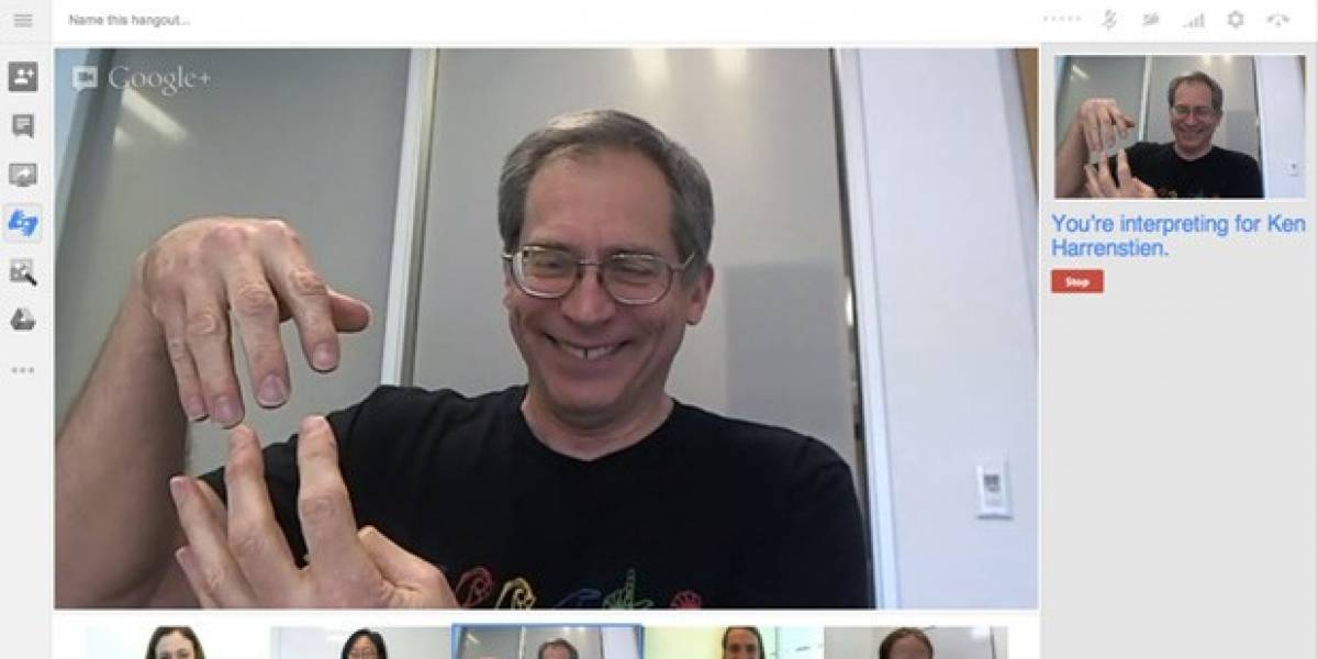 Google Hangouts ofrece interpretación de lenguaje de señas y atajos de teclado