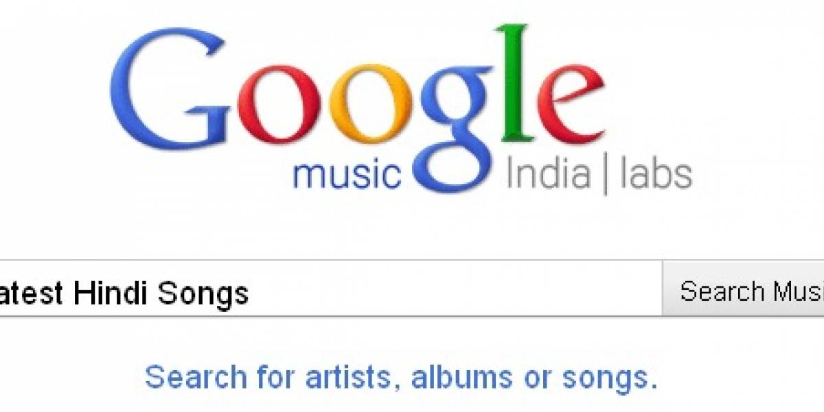 Google lanza servicio musical en India