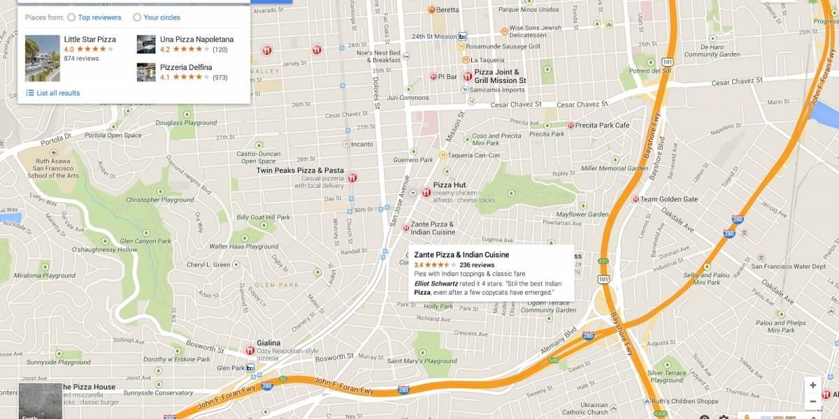 El nuevo Google Maps para PC ya está disponible