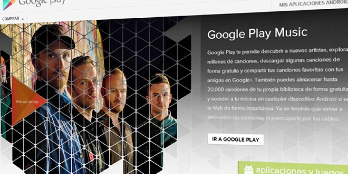 Google Play Music estará disponible en España desde el 13 de Noviembre