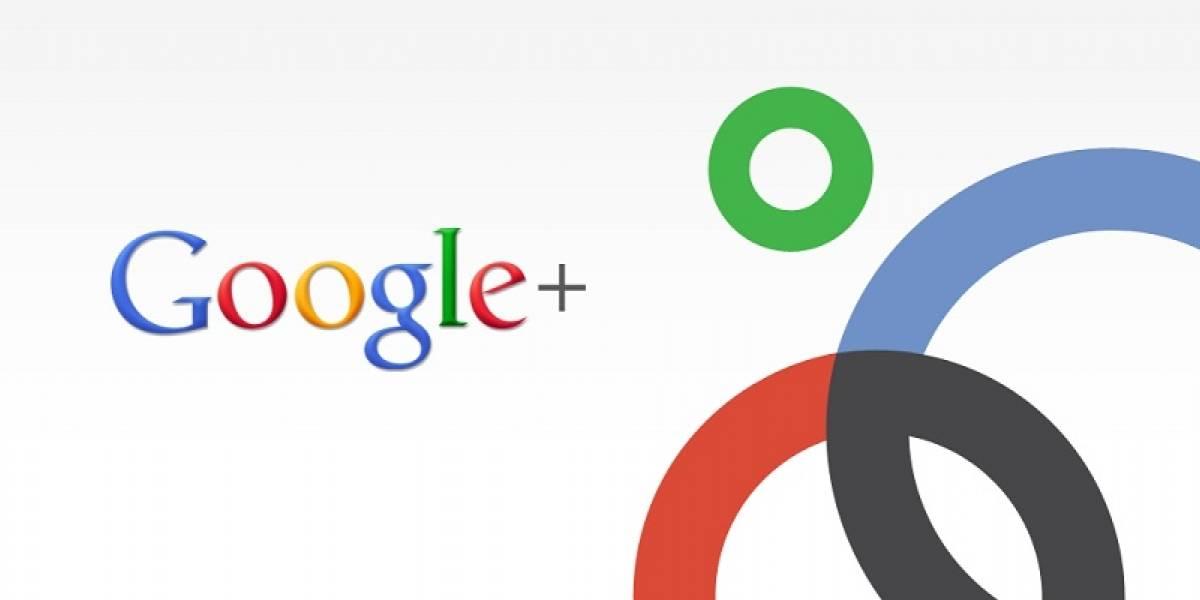 Google+ aumentó sus usuarios en un 30% luego de hacerse pública