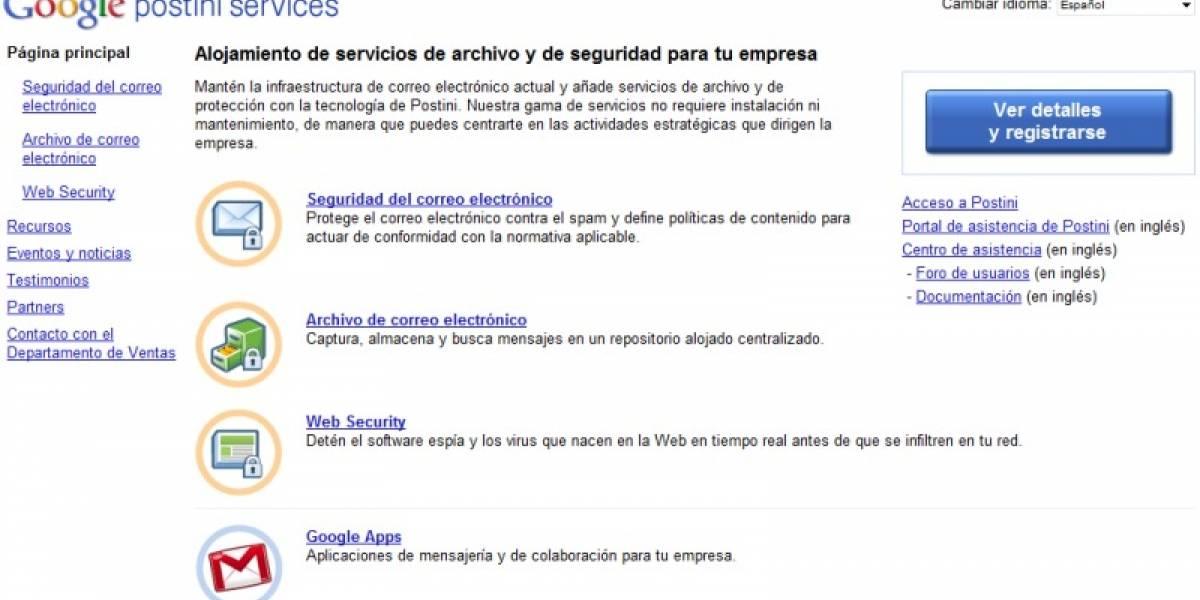Google presenta servicio que sube Microsoft Exchange a la nube