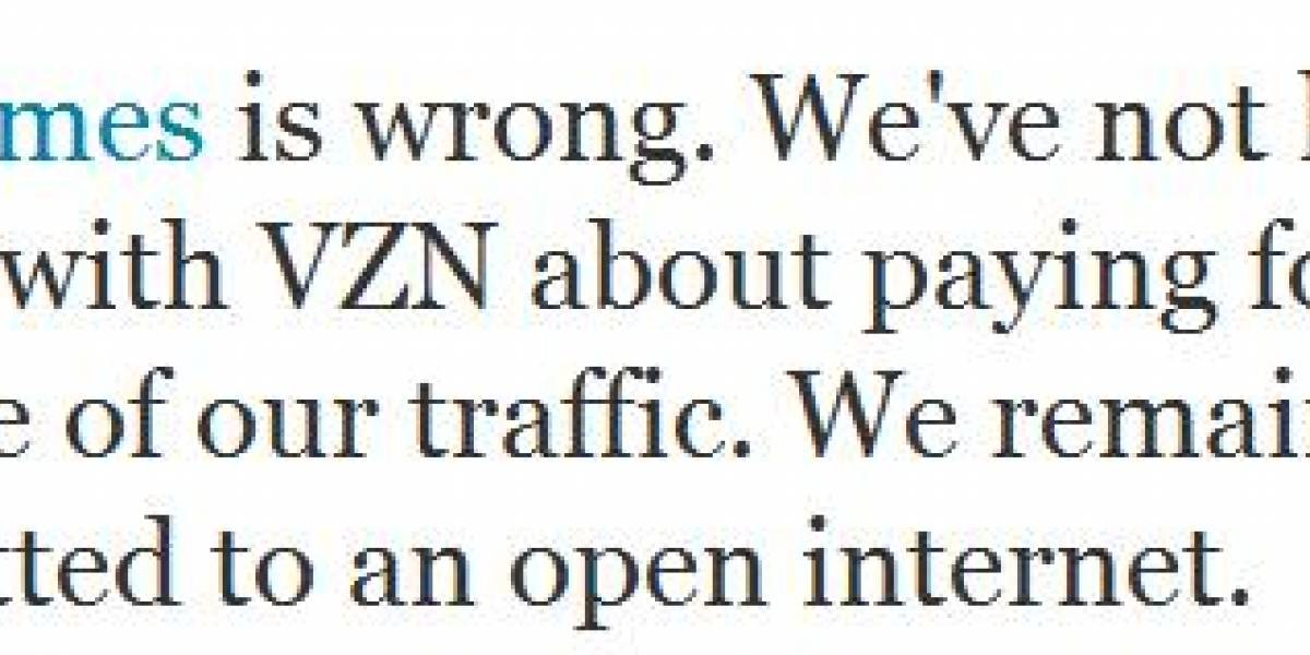 Google y Verizon amenazarían el principio de la neutralidad (actualizada)