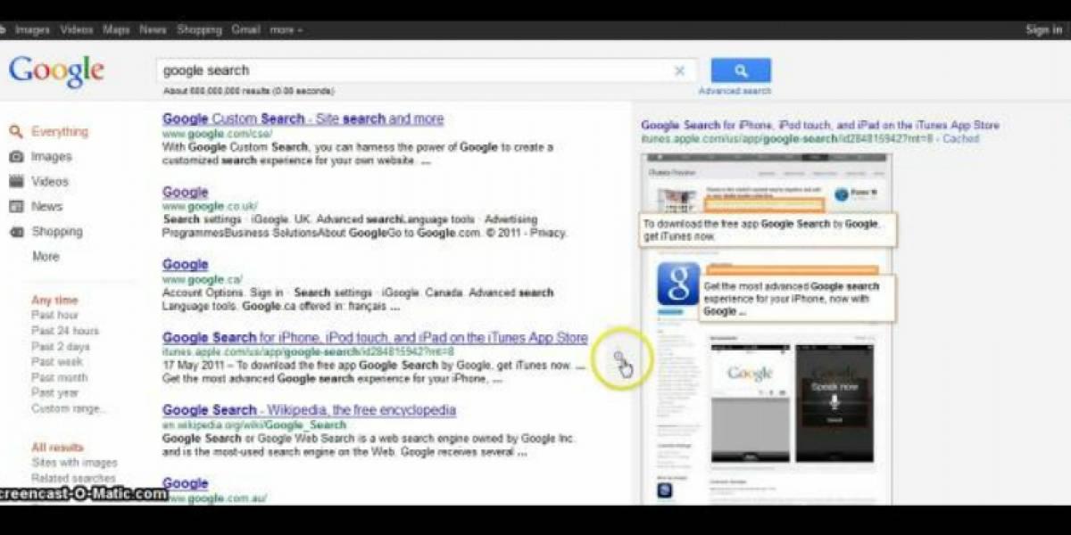 Google está probando un nuevo diseño de scroll infinito para sus resultados