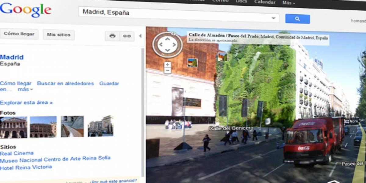 España: Nueva denuncia a Google por su recolección de imágenes para Street View