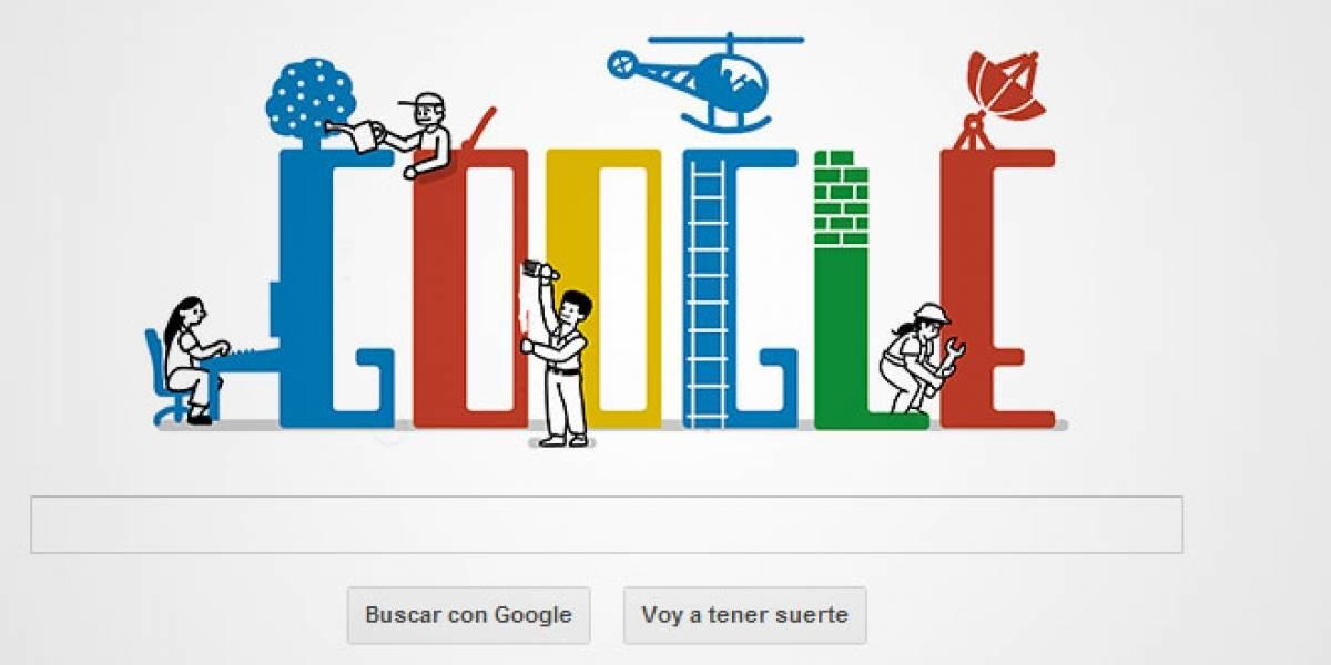 Google celebra el día del trabajador con doodle especial
