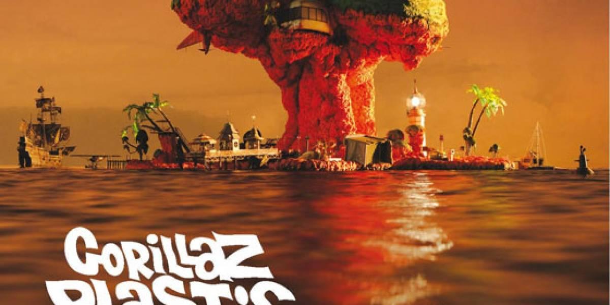 Gorillaz lanzaría el primer disco grabado en un iPad