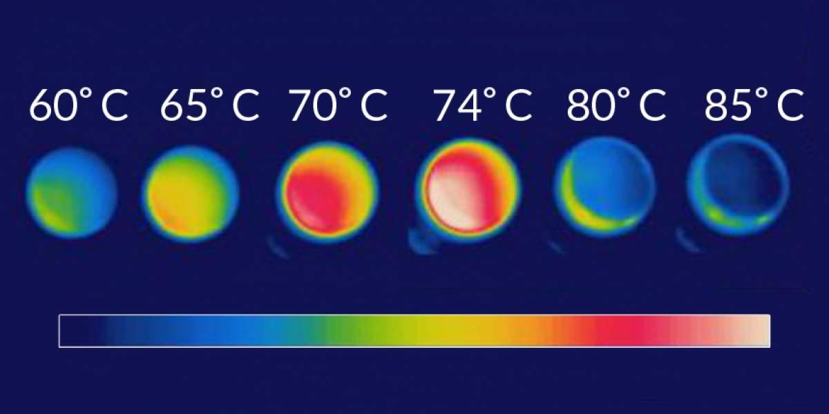 Nuevo material luce más frío cuando está más caliente