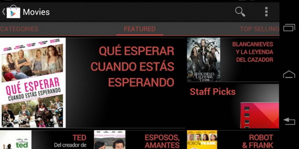 México: Google Play Movies disponible desde hoy