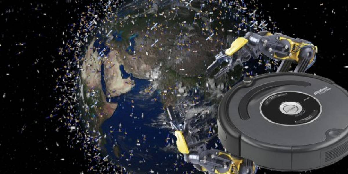 Un satélite con brazos podría eliminar la basura espacial