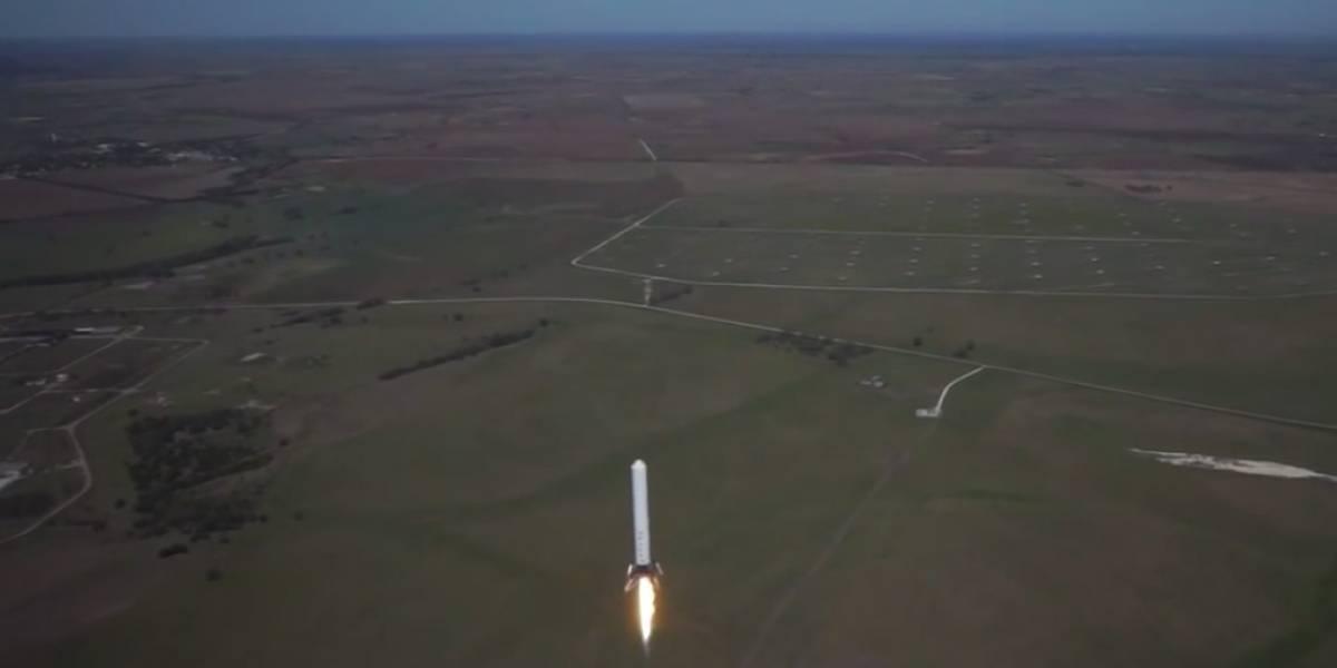 Cohete Grasshopper de Elon Musk alcanza su mayor altura hasta el momento