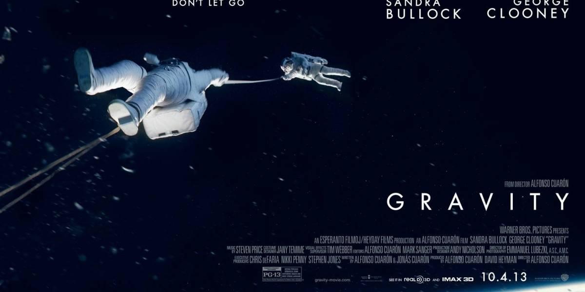 """Buzz Aldrin encontró """"notable"""" la película 'Gravity' de Alfonso Cuarón"""