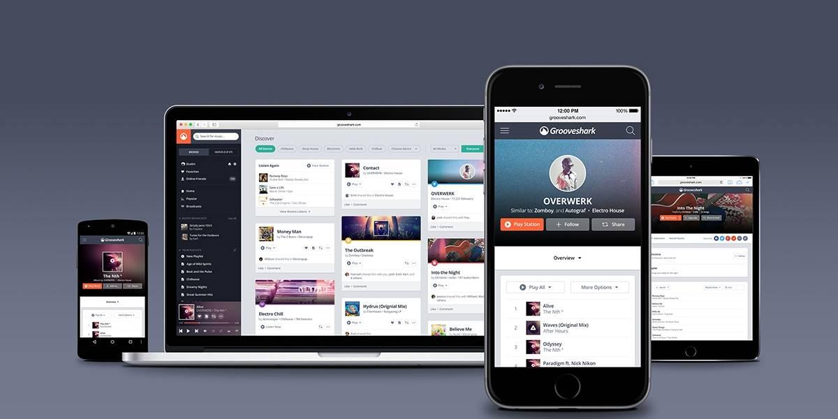 Grooveshark anuncia cambios en su política antipiratería