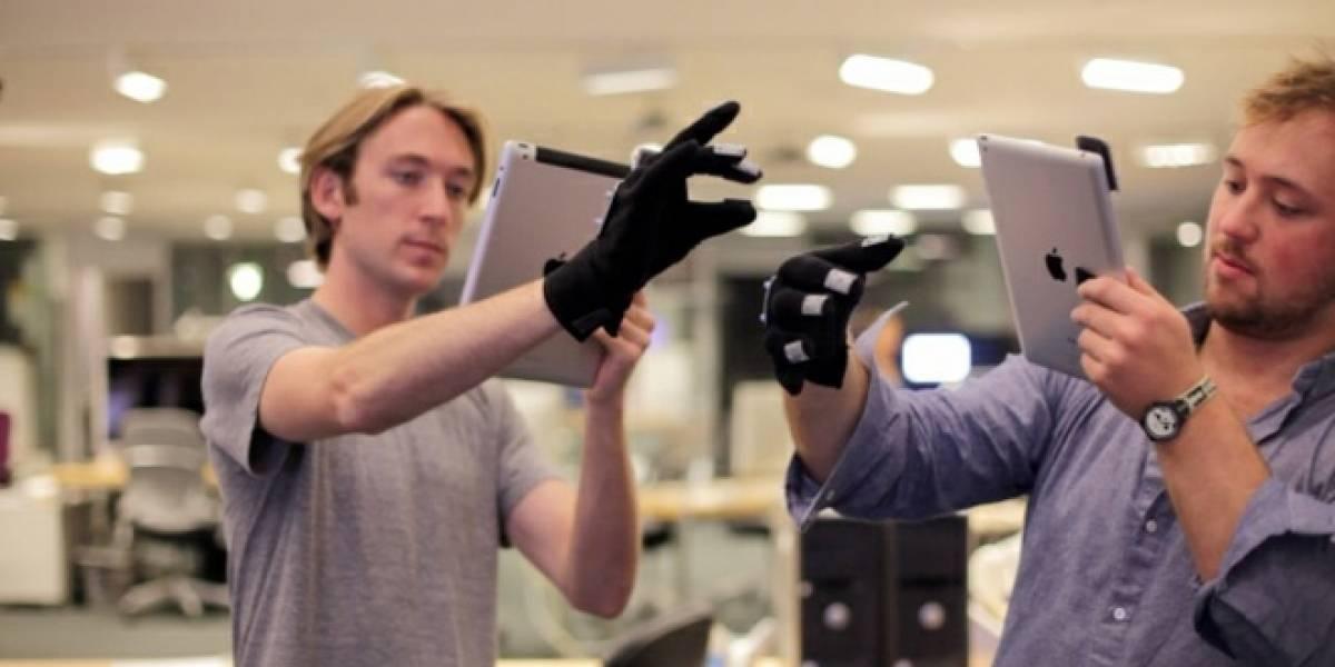 Estudiantes del MIT crean T(ether), sistema de control con guantes a lo Minority Report