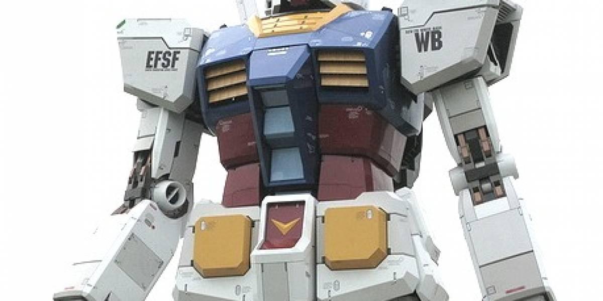 Japón termina su estatua Gundam gigante