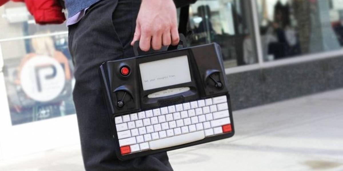 Hemingwrite: la máquina de escribir digital que te libera de las distracciones