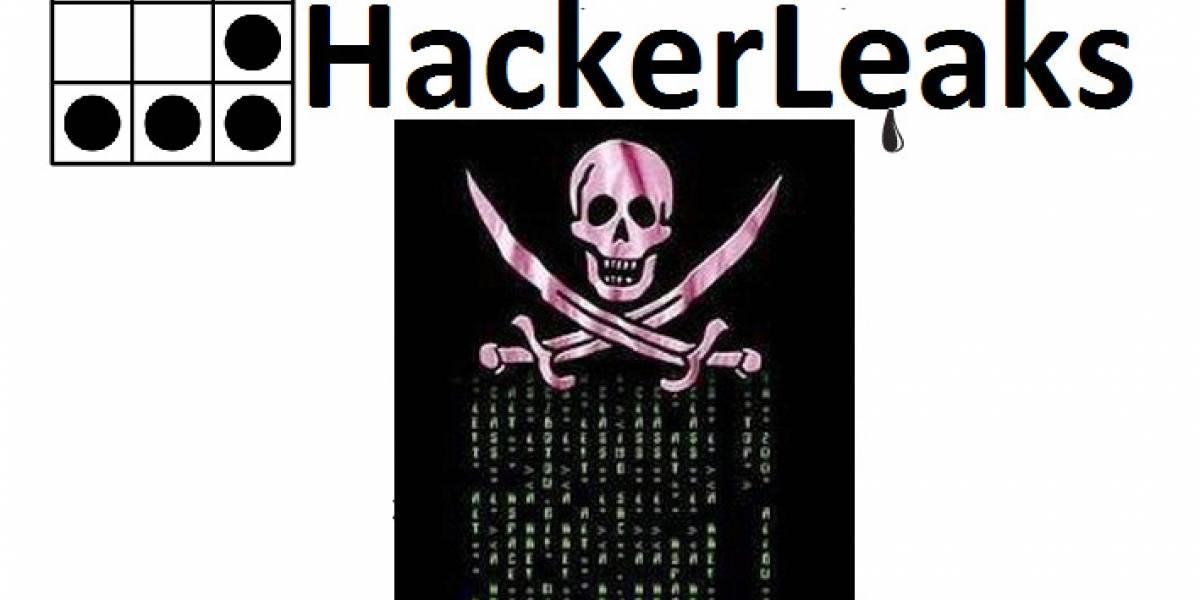 HackerLeaks: El WikiLeaks de Anonymous