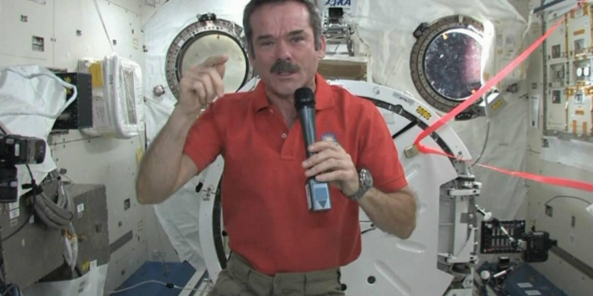 5 lecciones que aprendimos sobre el espacio con el astronauta Chris Hadfield