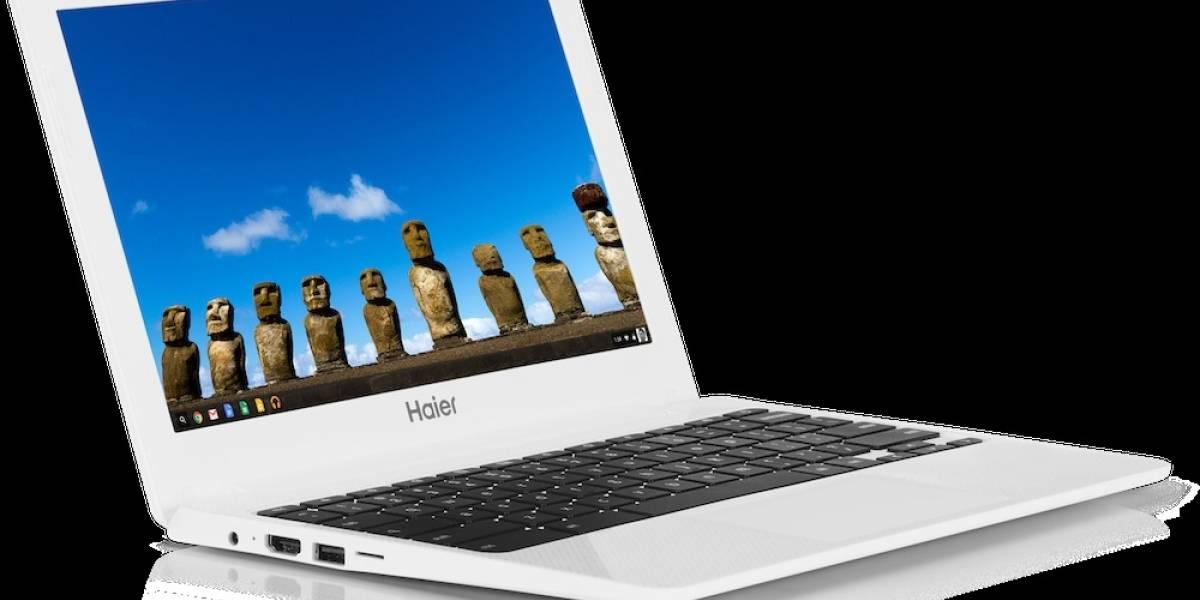 Google lanza la Chromebook Haier en México
