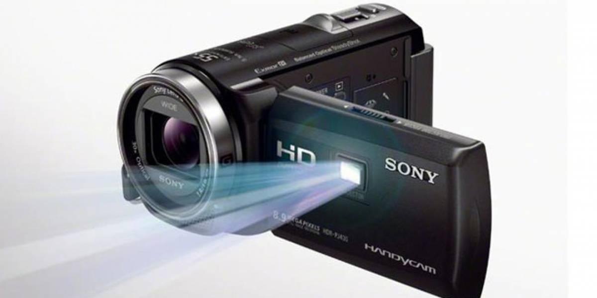 México: Sony presenta nuevas Handycam con proyector integrado