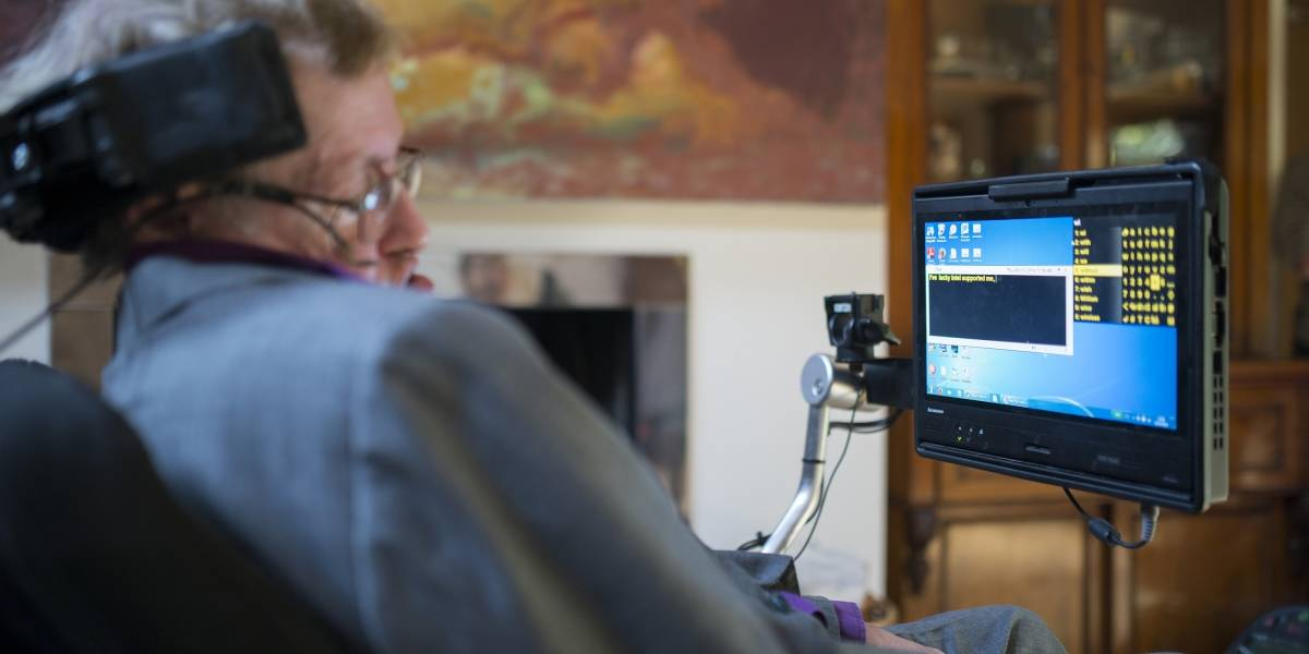 Cómo Intel y Swiftkey ayudan a Stephen Hawking comunicarse mejor