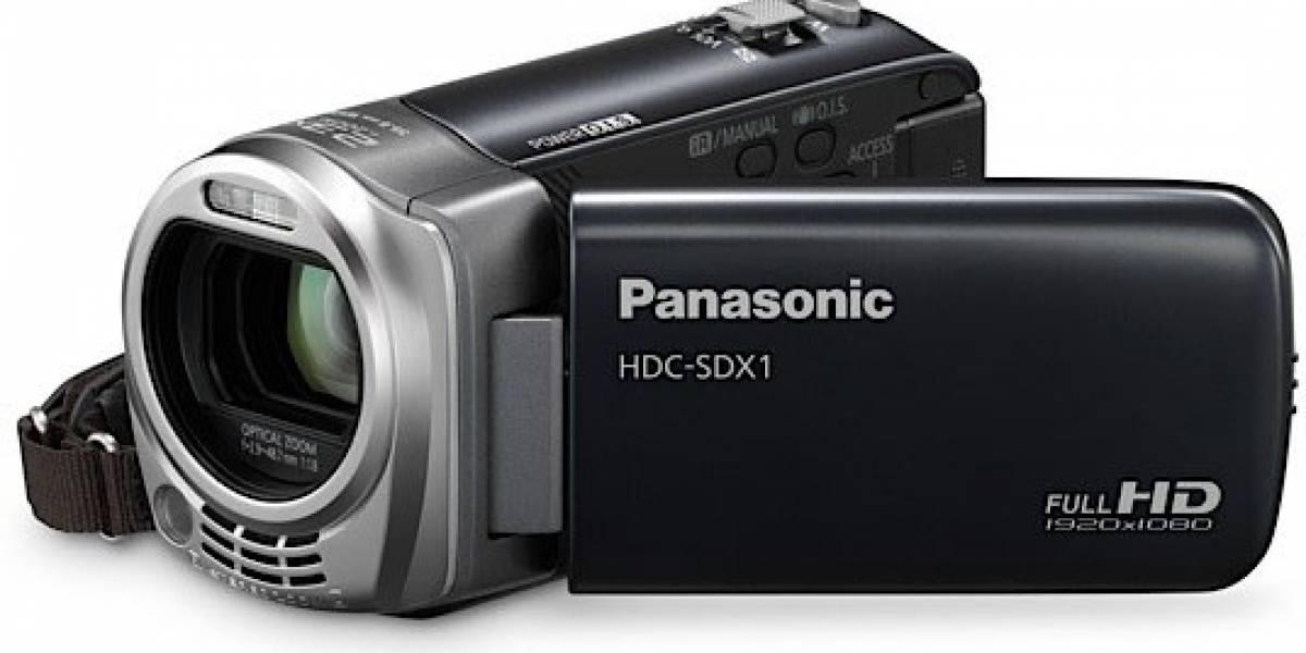 HDC-SDX1: Panasonic presenta una videocámara ligera que también sirve como webcam
