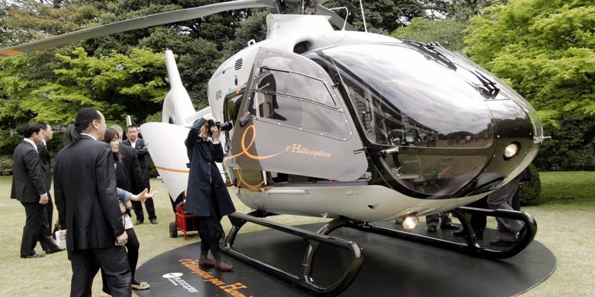 Uber ofrece servicio de helicópteros en China