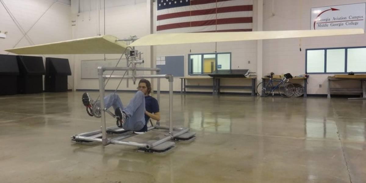 Proyecto de Kickstarter busca financiar helicóptero a pedales