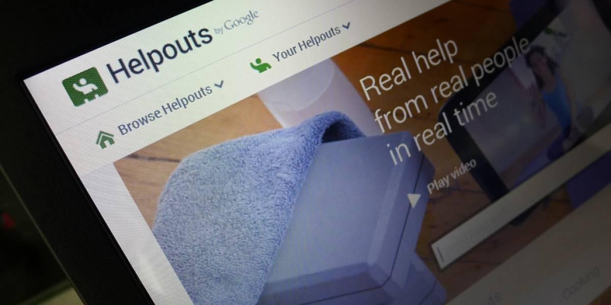 Google lanza oficialmente Helpouts, un mercado de ayuda