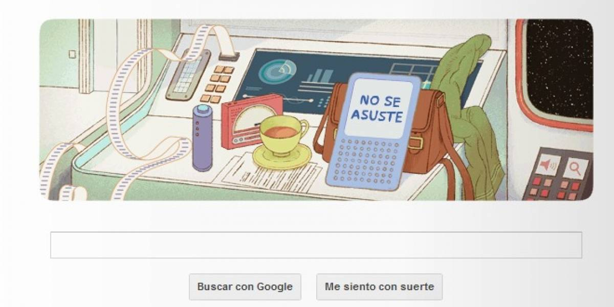 Google celebra a Douglas Adams y The Hitchhiker's Guide to the Galaxy