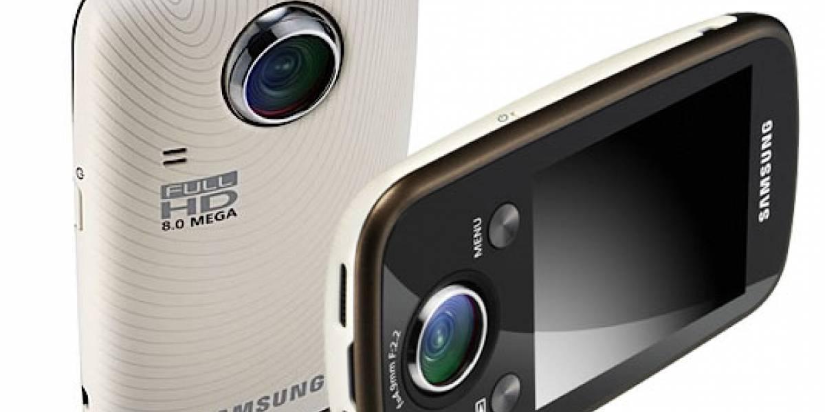 Samsung: Cámara digital ST80 con WiFi y videocámara de bolsillo HMX-E10 con lente giratorio