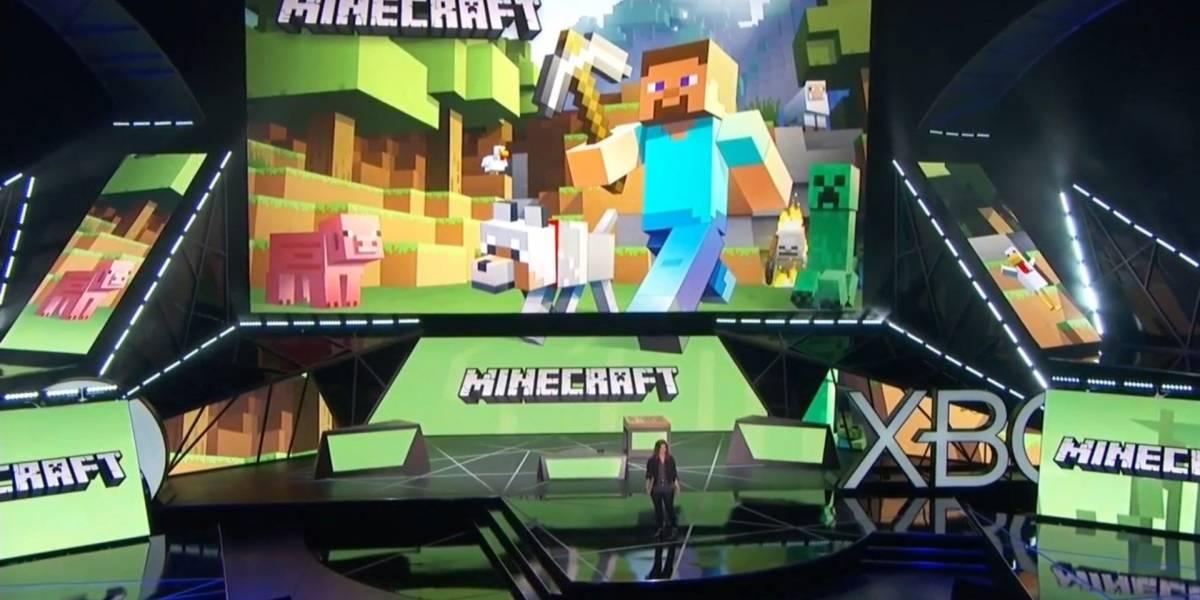 Microsoft muestra cómo se juega Minecraft con HoloLens #E32015