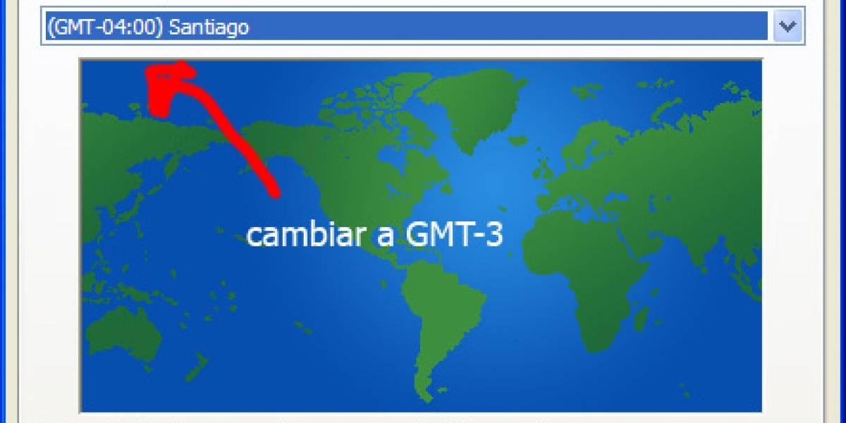 Chile: Ojo que se extendió el horario de verano