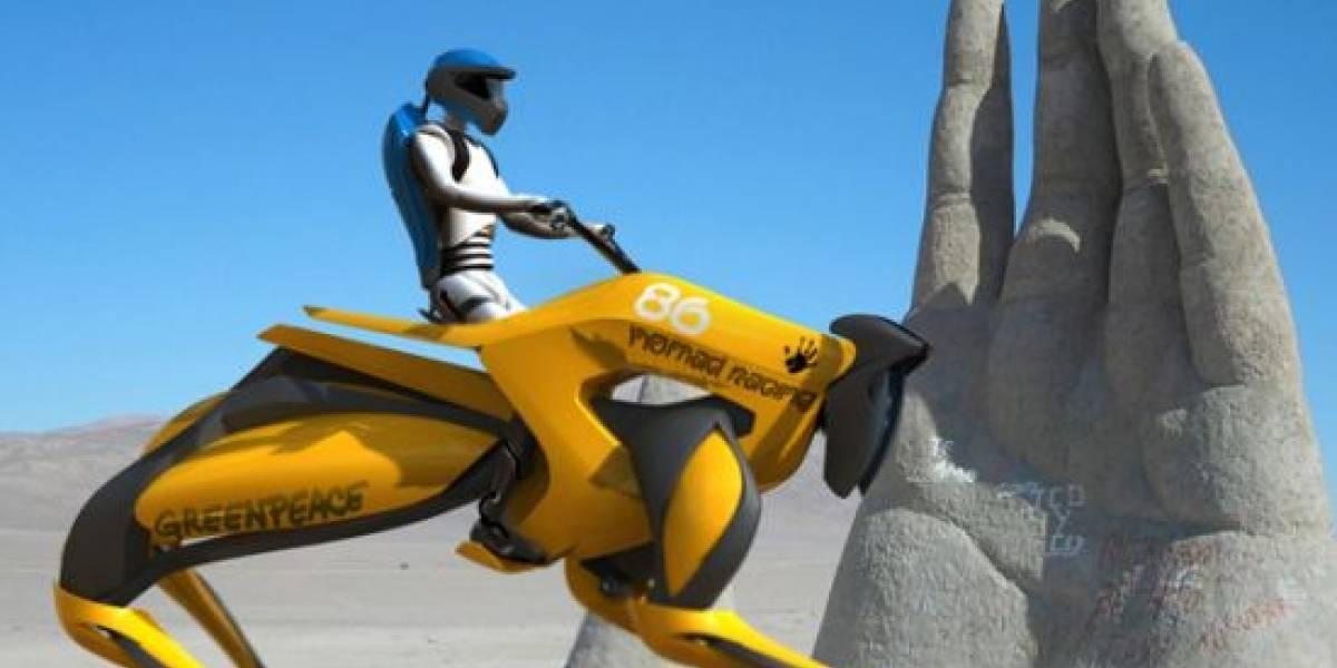 Proyecto Nomad: Un caballo mecánico conceptual