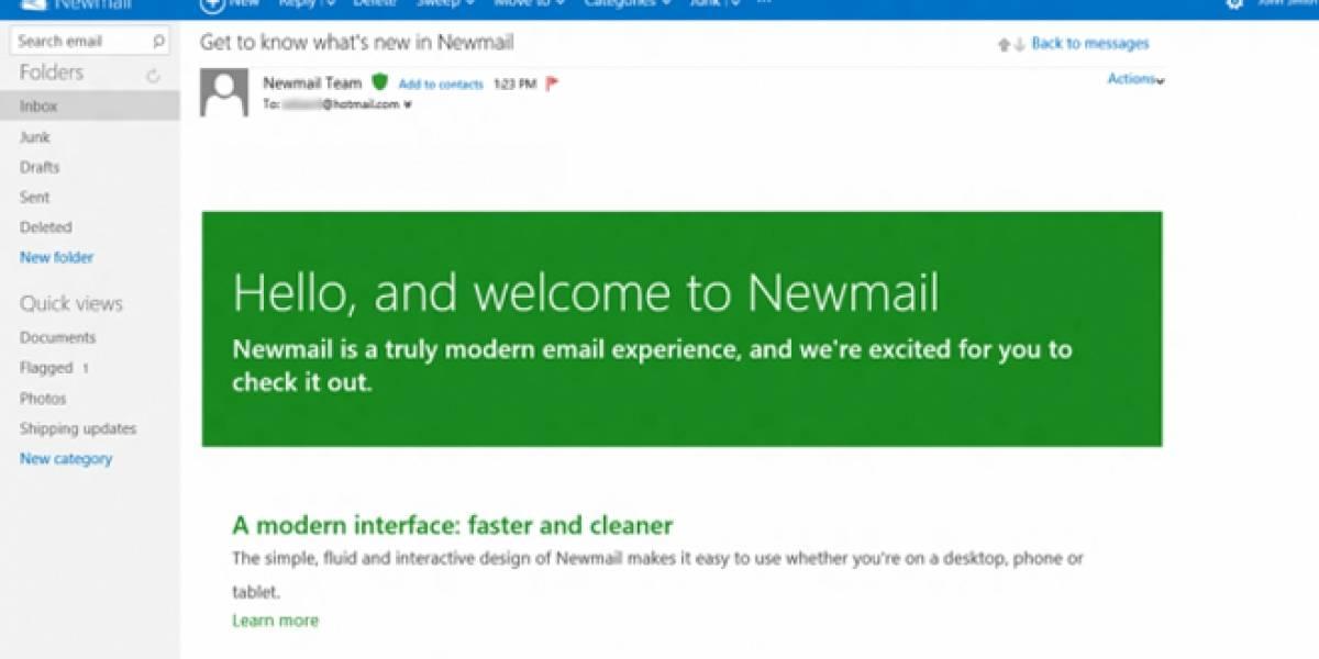 Microsoft trabaja en una versión de Hotmail para Metro