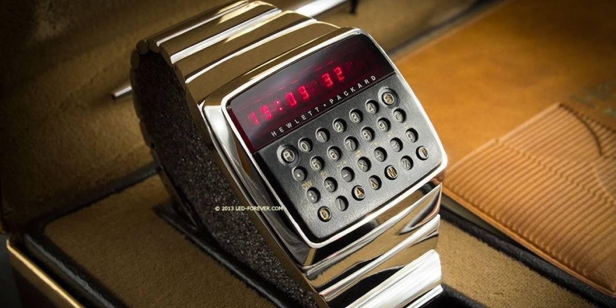 Prototipo de calculadora de pulsera HP de 1977 se subasta en eBay