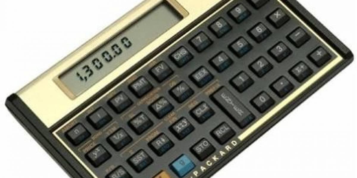 Calculadora HP 12c cumple 30 años