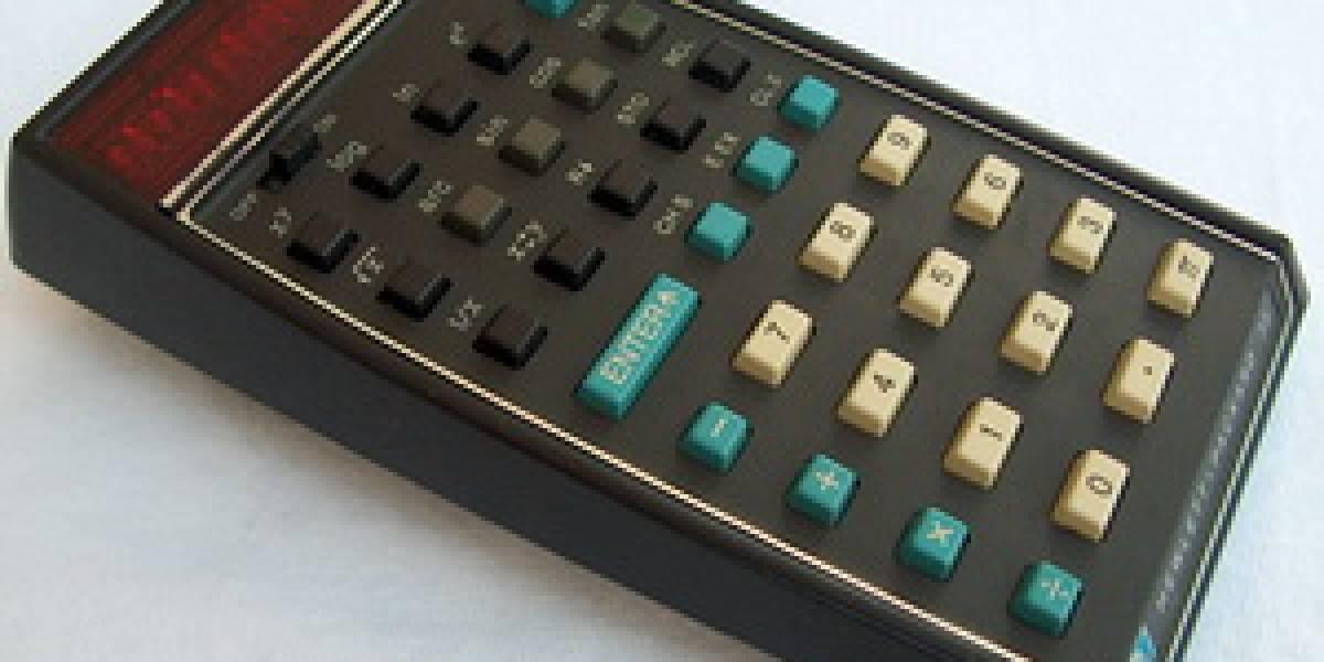 Calculadora científica HP-35 recibe premio 37 años más tarde