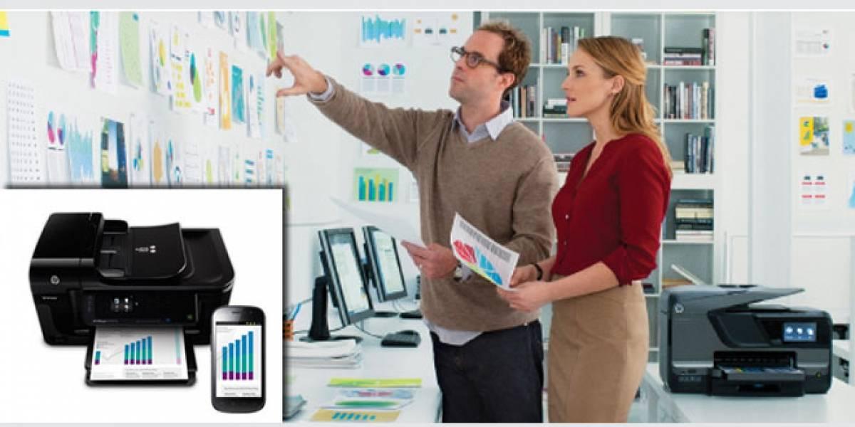 HP presenta nueva su gama de impresoras 'Officejet Pro' con tecnología ePrint y AirPrint