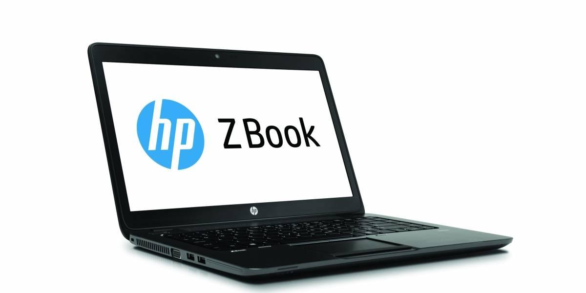 HP ZBook 14, primer ultrabook para profesionales